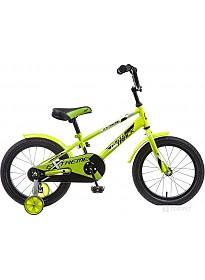 Детский велосипед Novatrack Extreme 14 (зеленый, 2019)