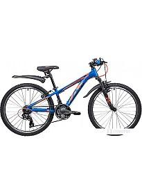 Велосипед Novatrack Extreme 24 (синий, 2019)