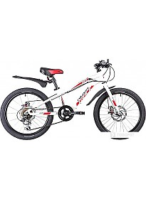 Детский велосипед Novatrack Prime 20 (белый/красный, 2019)