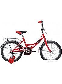 Детский велосипед Novatrack Urban 18 (красный/черный, 2019)