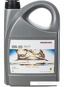 Моторное масло Honda Type 2.0 SN 0W-20 4л