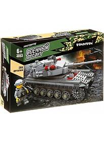 Конструктор Bondibon Военный Десант. Танк ВВ4053