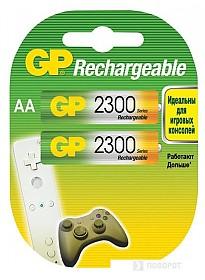 Аккумуляторы GP AA 2300mAh 2 шт. [2300AAHC]