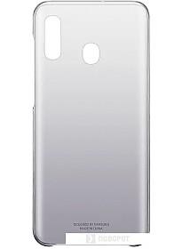 Чехол Samsung Gradation Cover для Samsung Galaxy A20 (черный)