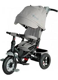 Детский велосипед Lorelli Jaguar Air Wheels (серый)