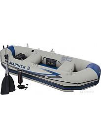 Гребная лодка Intex Mariner-3 SET