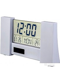 Радиочасы Perfeo City PF-S2056 (белый)