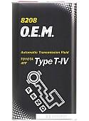 Трансмиссионное масло Mannol O.E.M. Type T-IV 4л