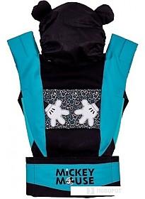 Рюкзак-переноска Polini Kids Микки Маус с вышивкой 0001699-9 (черный/синий)