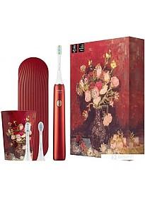 Электрическая зубная щетка Soocas X3U Van Gogh Museum Design (красный)