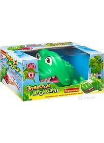 Настольная игра Bondibon Зубастый крокодил со светом и звуком ВВ3692