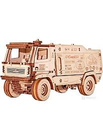 Сборная модель Eco-Wood-Art МАЗ-5309RR 1:20