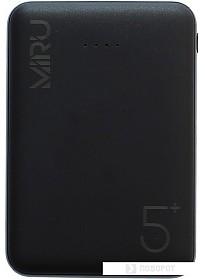 Портативное зарядное устройство Miru LP-3005 (черный)