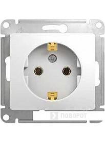 Розетка Schneider Electric Glossa GSL000143 (белый)