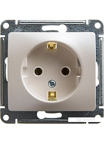 Розетка Schneider Electric Glossa GSL000643 (перламутр)