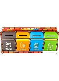 Сортер WoodLand Toys Сортировка мусора 133101