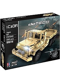 Конструктор CaDa Detech радиоуправляемый Военный грузовик C51042W