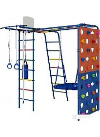 Детский спортивный комплекс Формула здоровья Street 2 (синий/радуга)