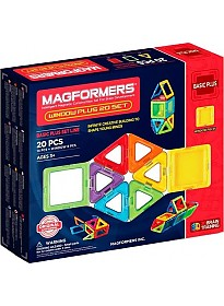 Конструктор Magformers Window Plus 20 Set 715001