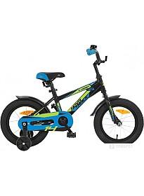 Детский велосипед Novatrack Lumen 14 (черный, 2019)