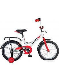 Детский велосипед Novatrack Strike 20 (белый/красный)