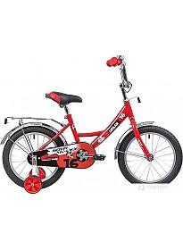 Детский велосипед Novatrack Urban 16 (красный/черный, 2019)