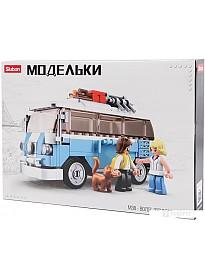 Конструктор Sluban M38-B0707 Классический автобус хиппи