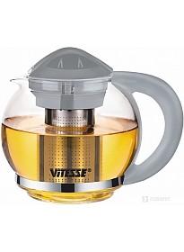 Заварочный чайник Vitesse VS-4004 (серый)