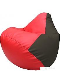 Кресло-мешок Flagman Груша Макси Г2.3-09196 (красный/черный)