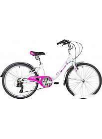Велосипед Novatrack Ancona 24 2020 (белый)