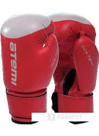 Перчатки для единоборств Atemi LTB-19009 (10 oz, красный/белый)