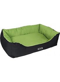 Лежак Scruffs Expedition Box Bed с бортиком 50 см (зеленый)