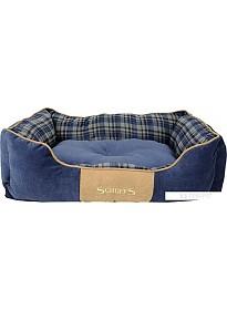 Лежак Scruffs Highland 932091 (синий)