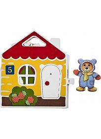 Развивающая игра Smile Decor Мишкин дом Ф268