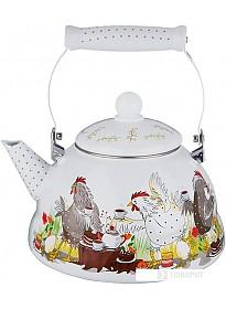 Чайник без свистка Agness Куриный переполох 934-377