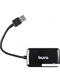 USB-хаб Buro BU-HUB4-U3.0-S