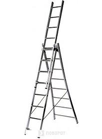 Лестница-трансформер Dinko 3х9 секций [LS 309]