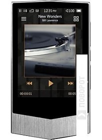 MP3 плеер Cowon Plenue V 64GB (серебристый)