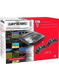 Игровая приставка Retro Genesis Modern Wireless (2 беспроводных геймпада, 170 игр)
