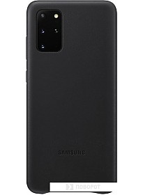 Чехол Samsung Leather Cover для Samsung Galaxy S20+ (черный)