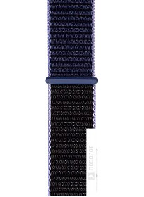 Ремешок Evolution AW40-SL01 для Apple Watch 38/40 мм (midnight blue)