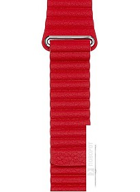 Ремешок Evolution AW44-LL01 для Apple Watch 42/44 мм (imperial red)
