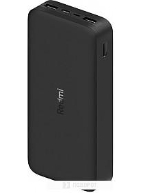 Портативное зарядное устройство Xiaomi Redmi Power Bank 20000mAh (черный)