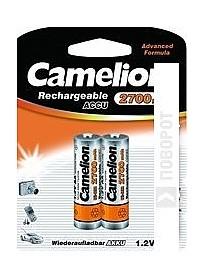 Аккумуляторы Camelion AA 2700mAh 2 шт. [NH-AA2700-BP2]