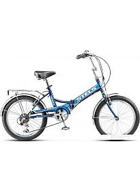 Велосипед Stels Pilot 410 20 Z011 (синий, 2018)