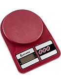 Кухонные весы Василиса ВА-012 (бордовый)