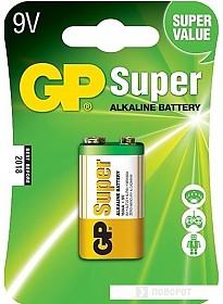Батарейки GP Super Alkaline 9V