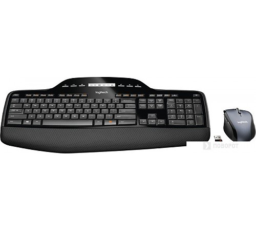 Мышь + клавиатура Logitech Wireless Desktop MK710 [920-002434]