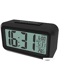 Радиочасы Ritmix CAT-100 (черный)