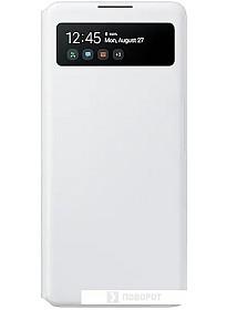 Чехол Samsung S View Wallet для S10 Lite (белый)